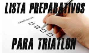 lista preparativos primer triatlón