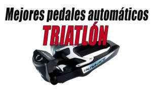 mejores pedales automaticos para triatlon
