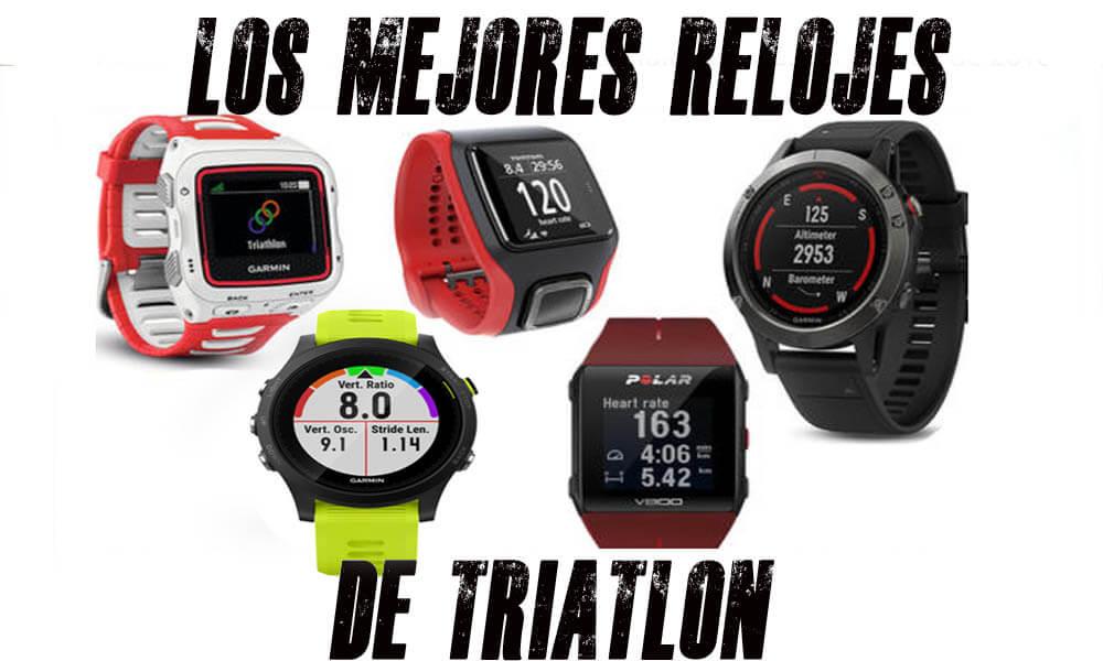 Mejores relojes de triatlón 2019 | Descúbrelos todos
