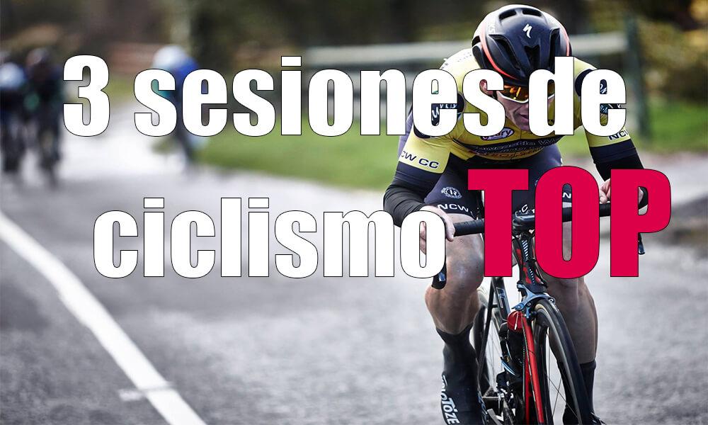 Sesiones de bicicleta con intervalos, subidas y cadencia | Entrenamiento