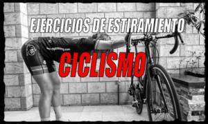 ejercicios estiramiento ciclismo
