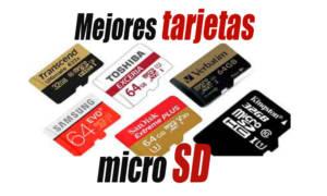 mejores tarjetas micro SD