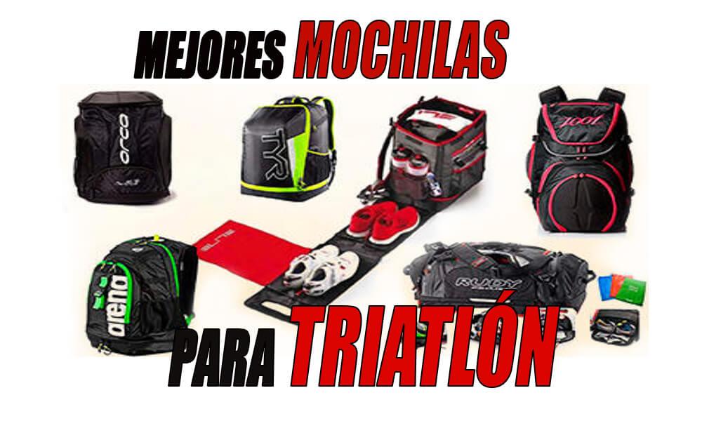 Mejores mochilas para triatlón que puedes comprar