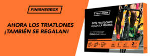 regalo para triatlón finisher box