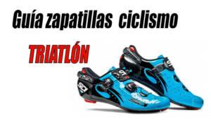 guia zapatillas ciclismo triatlón