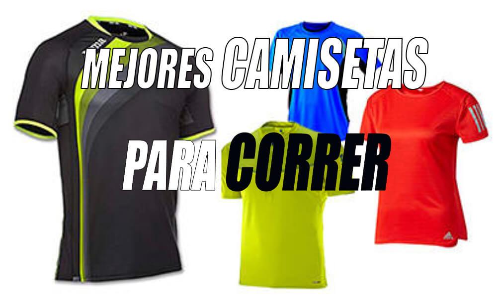 Mejores camisetas para correr hombres y mujeres  89c8b306b0df2