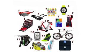 seleccion de regalos de triatlón