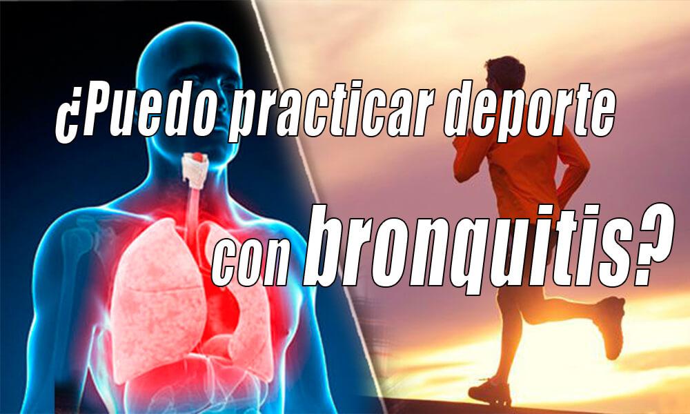 bronquitis y ejercicio