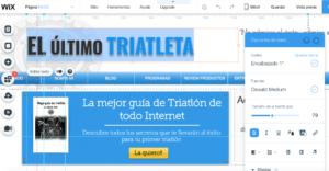 wix review editor plantilla