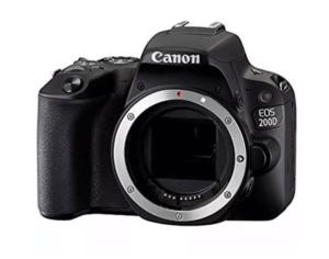 Cámara Reflex Canon EOS 200D