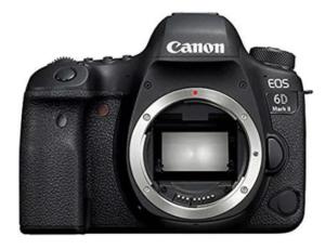 Cámara Reflex Canon EOS 6D Mark II