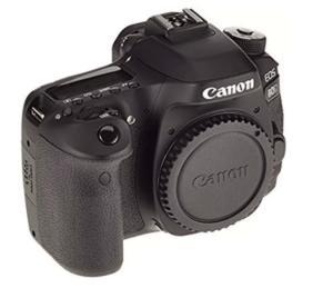 Cámara reflex Canon EOS 80D