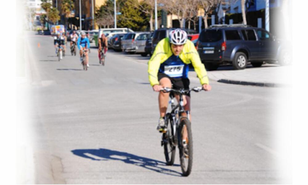 competir con bicicleta de montaña