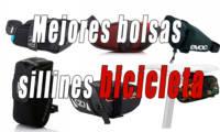 Mejores bolsas para sillín de bicicleta ciclismo y MTB | Comparativa