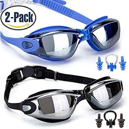 09dec608d1 Además de ser una opción fantástica para niños o adultos, estas gafas de  natación tienen un gran valor pack de dos.