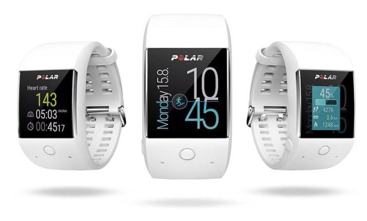 Reloj deportivo Cardio GPS Polar M600 varios