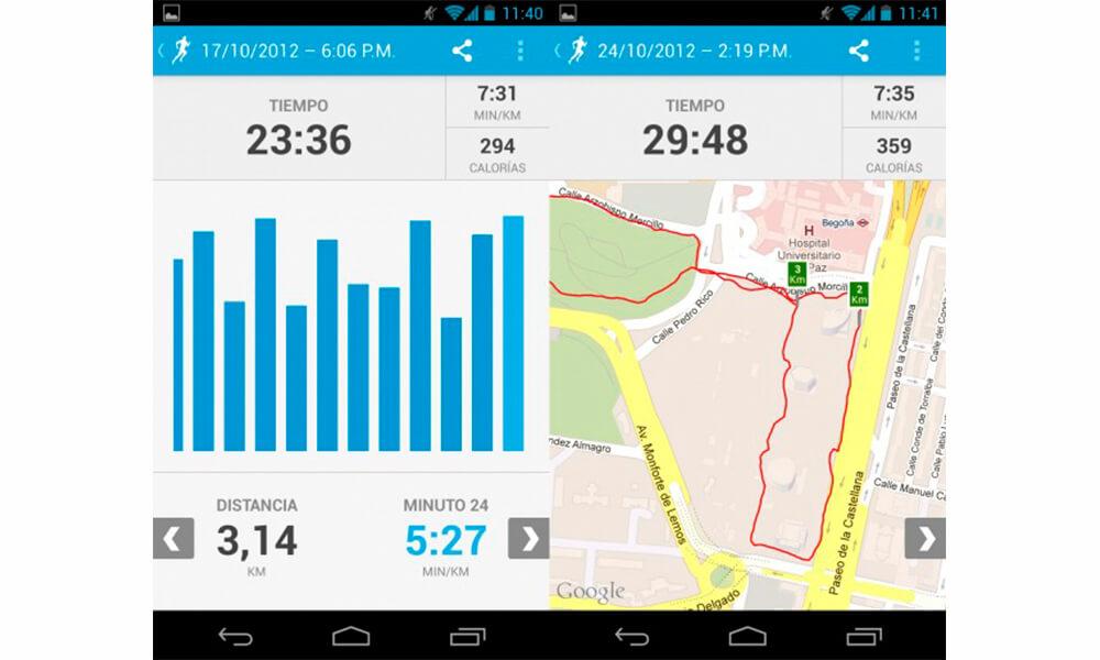 ruunkeeper aplicacion entrenamiento para correr y montar en bicicleta