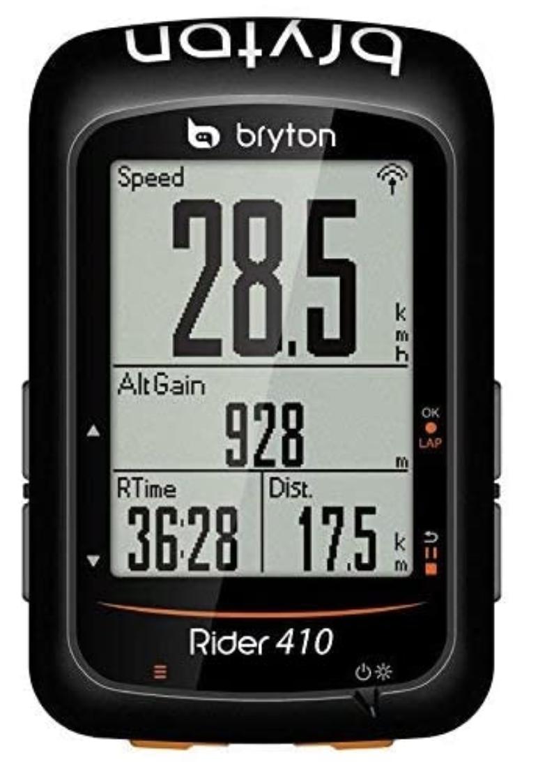 Bryton Rider 410 ciclocomputador