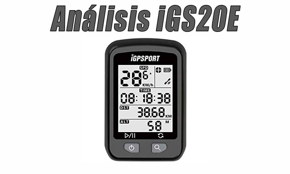 iGS20E: Análisis y opinión | Ciclocomputador | GPS Bicicleta