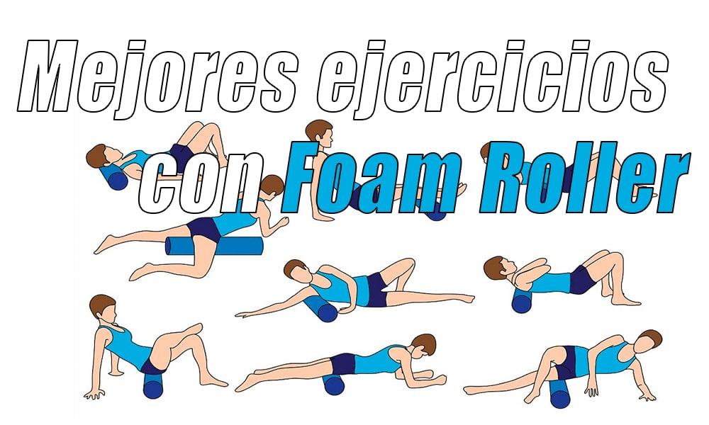 Mejores ejercicios con Foam Roller para corredores, ciclistas y triatletas
