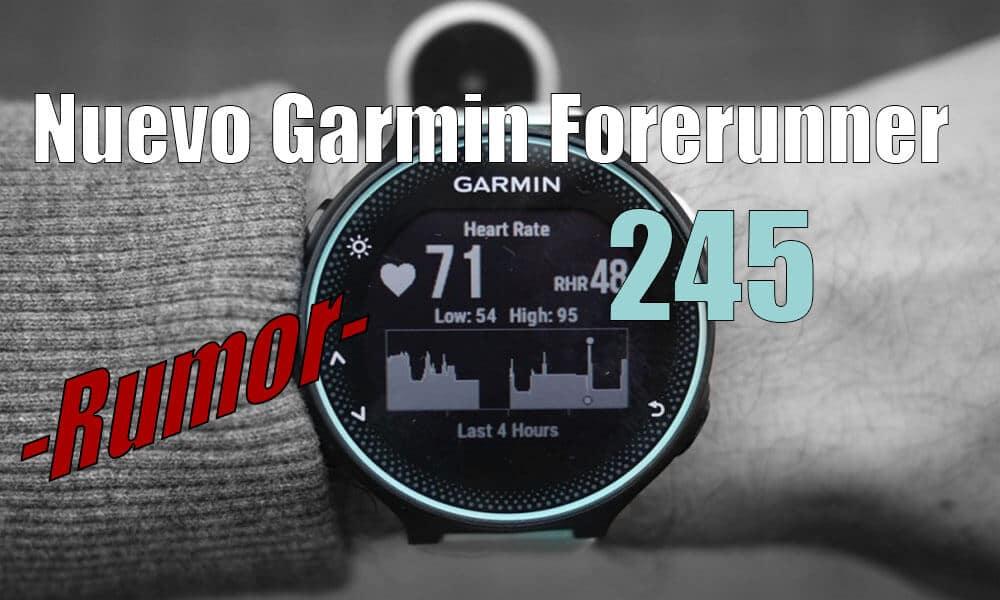 Garmin Forerunner 245 Music | Próximo sustituto Garmin 235