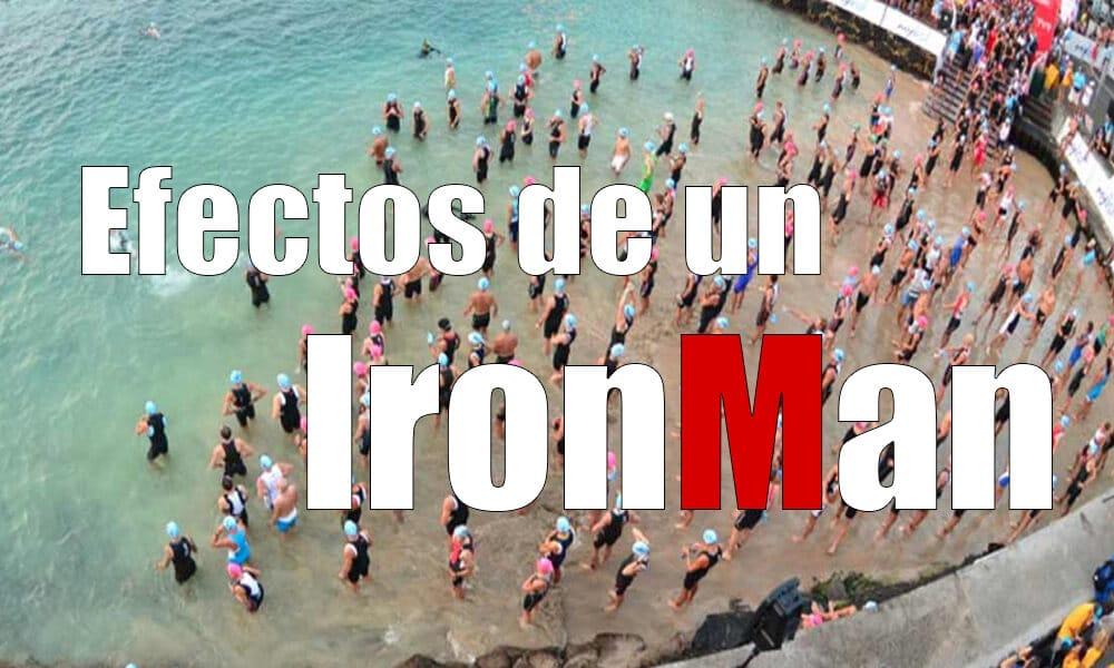 Efectos del Ironman en el cuerpo humano | Repercusiones y efectos