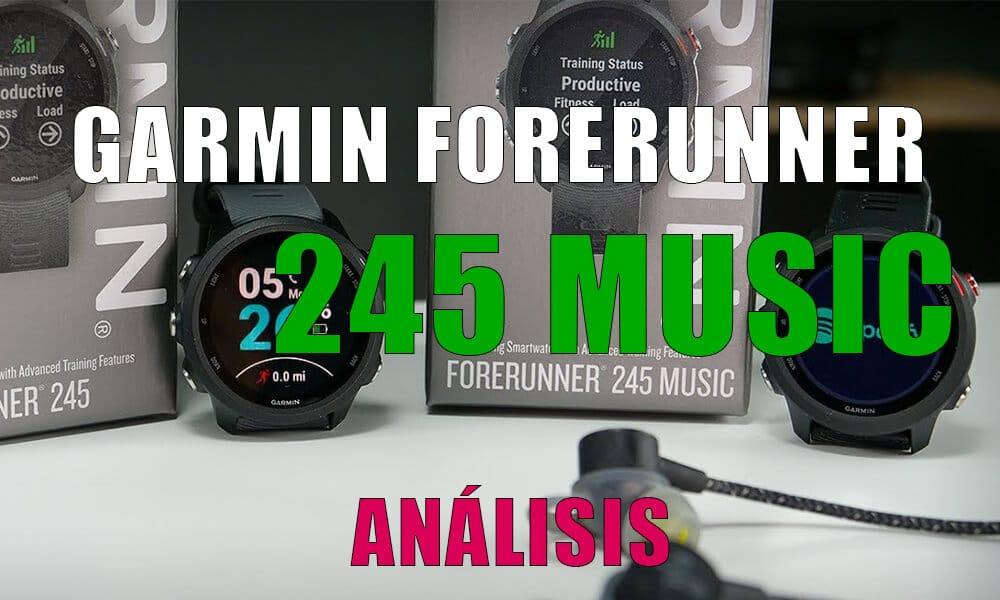 Garmin Forerunner 245 Music | Análisis, opinión y comparativa