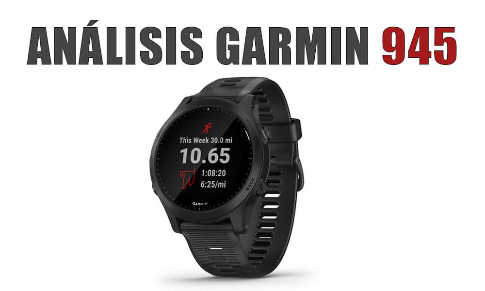 Garmin Forerunner 945: Primer análisis y opinión | Reloj multideportivo