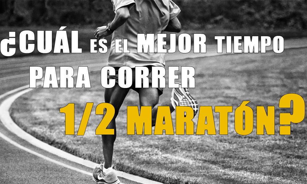 Cuál es el tiempo medio de un principiante en media maratón | Análisis