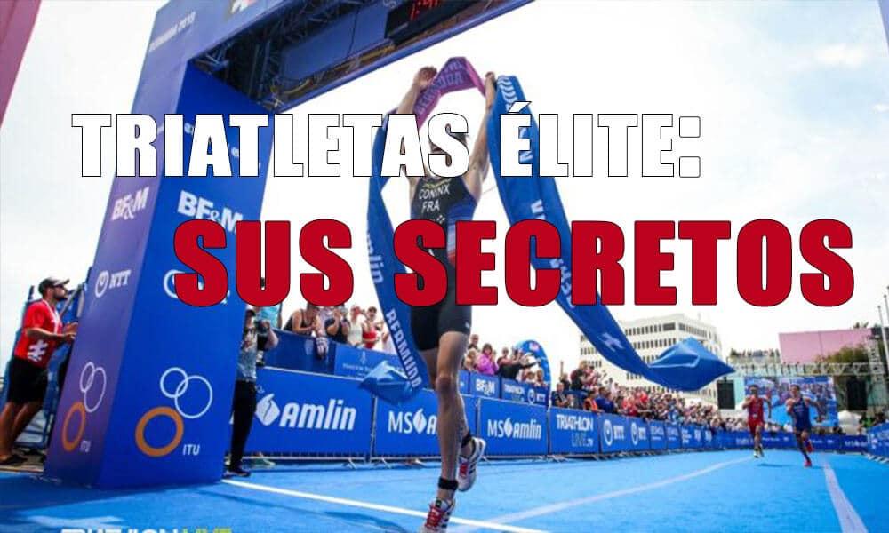 Los hábitos claves de los triatletas de élite | Entrenamiento triatlón