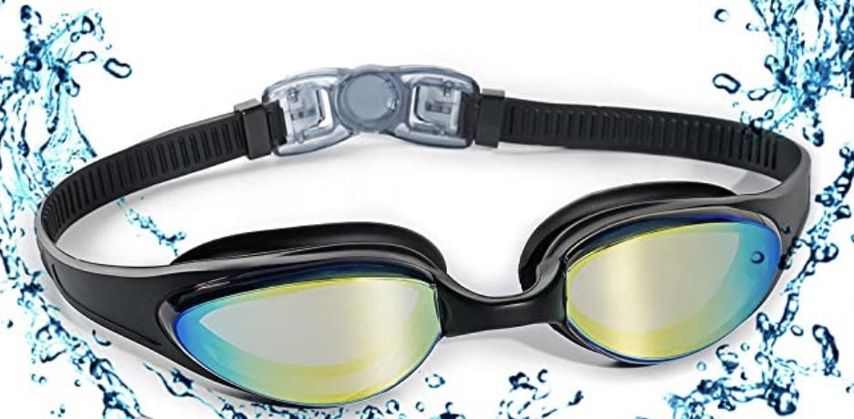 Gafas de natación con puente flexible