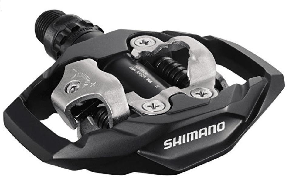 Pedal de bicicleta para montaña Shimano, M530