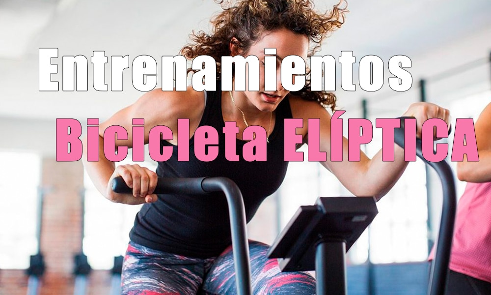 Los ejercicios con bicicleta elíptica son ideales para corredores lesionados o entrenamiento cruzado. Mejora tu capacidad aeróbica sin impactos
