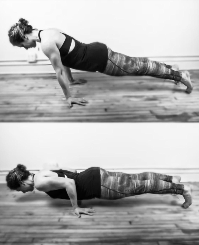 flexion Pseudo plancha