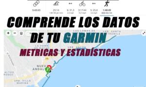 Cada métrica de Garmin explicada: Comprende las estadísticas