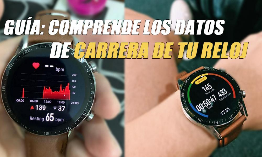 Comprender los datos de tu reloj para correr