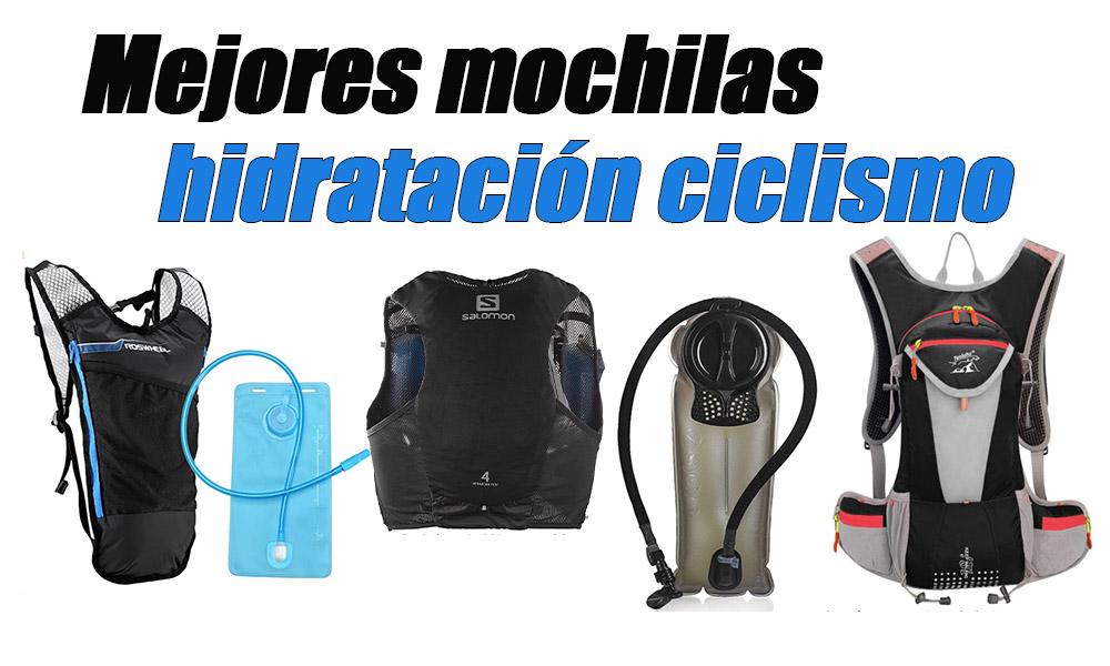 mejores mochilas hidratación ciclismo