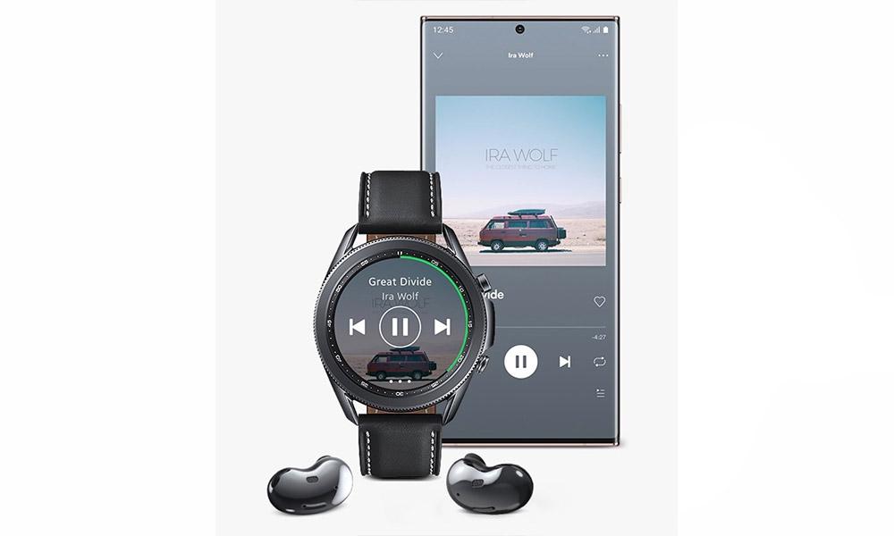 galaxy watch 3 Spotify
