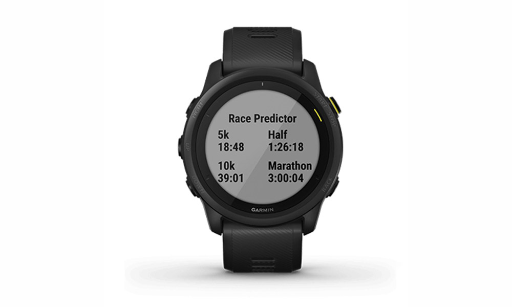 Garmin 745 predictor de carrera