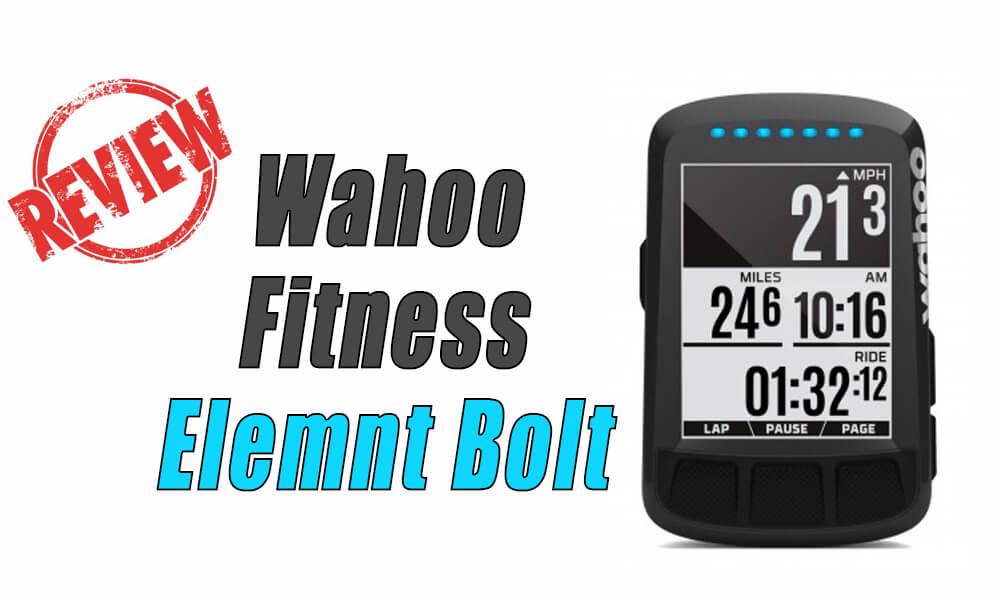 Wahoo Fitness Elemnt Bolt análisis y opinión