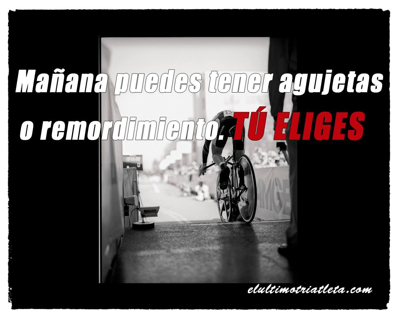 frase para no dejar entrenar ciclismo