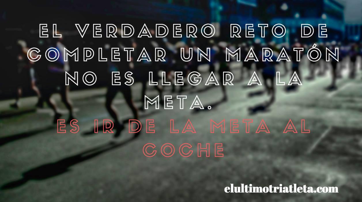 frase verdadera cuando correr maraton