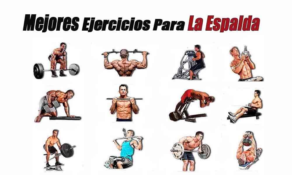 mejores ejercicios para la espalda