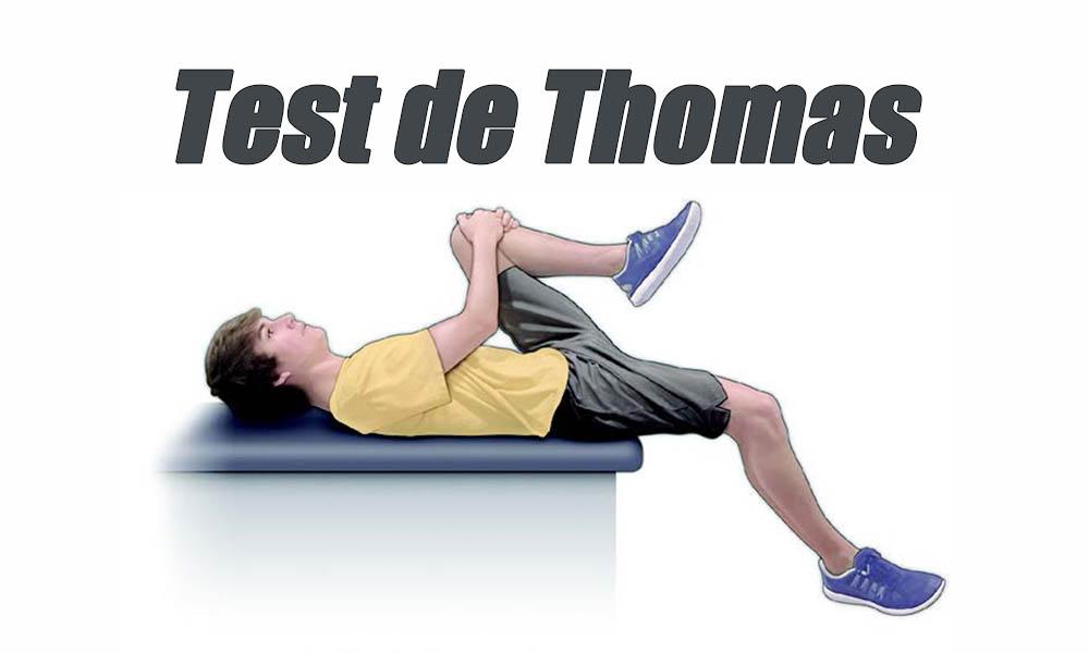 test de thomas