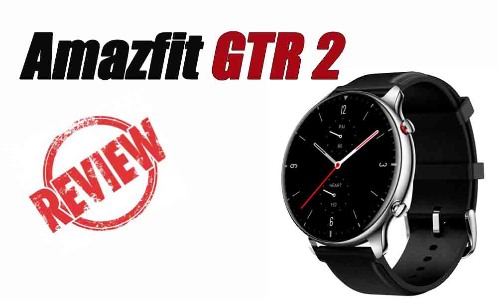 Amazfit GTR 2- Analisis y opinion