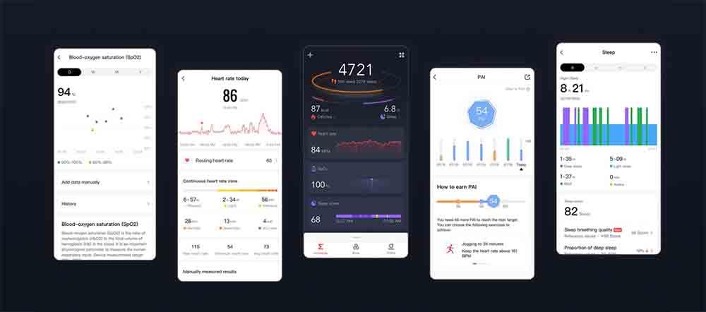 Amazfit GTR 2-app-movil