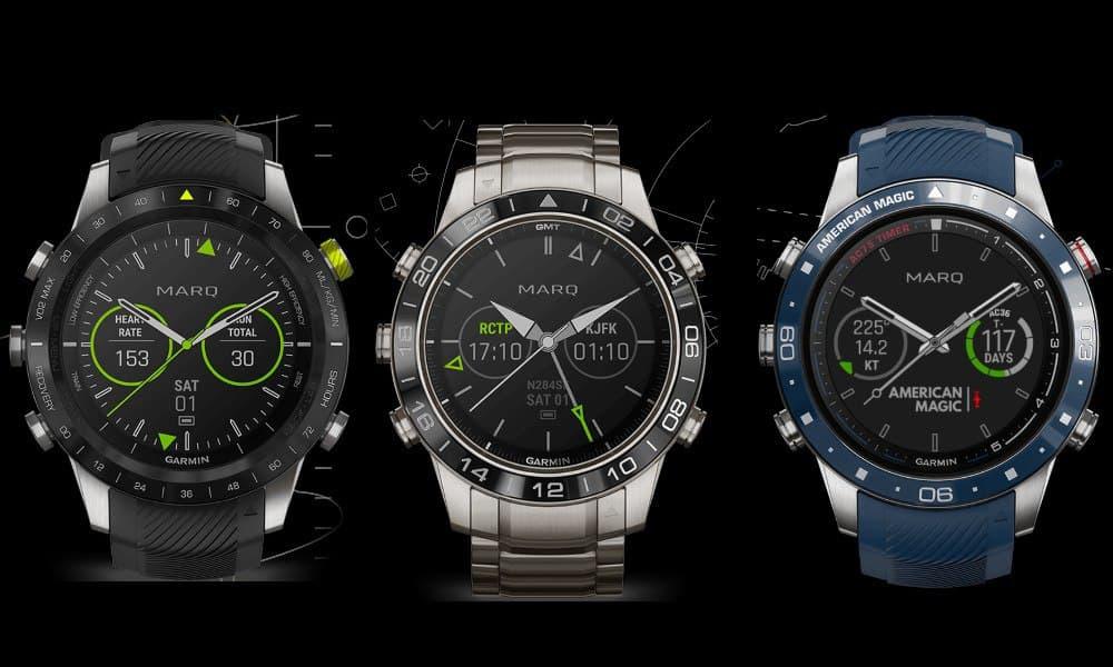 Garmin Marq modelos de reloj