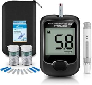 Kit de medidor de glucosa con tiras de pruebas – Marca SEEYC