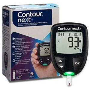 Mejores glucómetros con tiras Contour XT