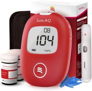 Mejores glucómetros con tiras SAFE AQ Smart